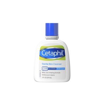 Cetaphil Gentle Skin Cleanser Unscented - 2 Fl Oz, Adult Unisex