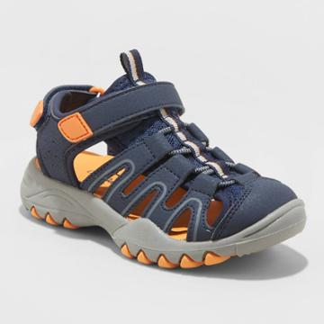 Toddler Boys' Afton Hiking Sandals - Cat & Jack Navy 5, Toddler Boy's, Blue