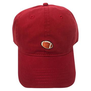 Concept One Men's Football Dad Cap - Red