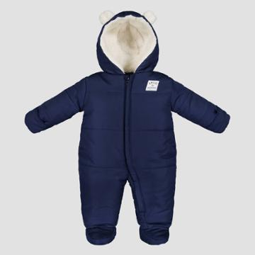 Baby Boys' Bear Snowsuit - Just One You Made By Carter's Navy 3m, Boy's, Blue