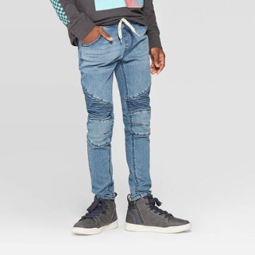 Boys' Super Skinny Pull-on Jeans - Art Class Blue