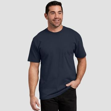 Petitedickies Men's Big & Tall Short Sleeve T-shirt - Deep Navy