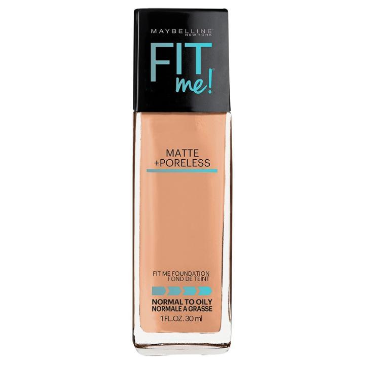 Maybelline Fitme Matte + Poreless Foundation 124 Soft
