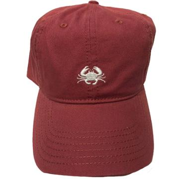Concept One Crab Men's Dad Baseball Hats - Red