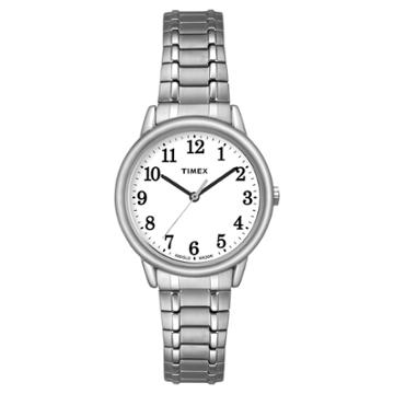Women's Timex Easy Reader Expansion Band Watch - Silver Tw2p78500jt, Women's,