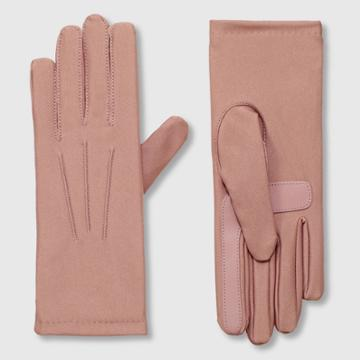 Isotoner Women's Lined Spandex Gloves - Blush