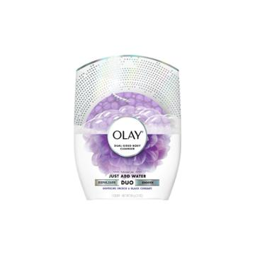 Olay Duo Soap - Dual-sided Body Cleanser Soothing Orchid & Black Currant