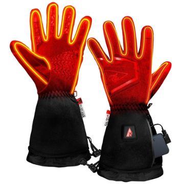 Actionheat Men's 5v Battery Heated Featherweight Gloves - Black