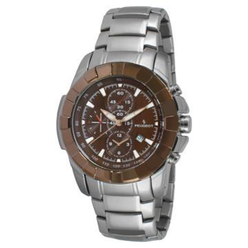 Peugeot Watches Men's Peugeot Dial Watch - Brown,