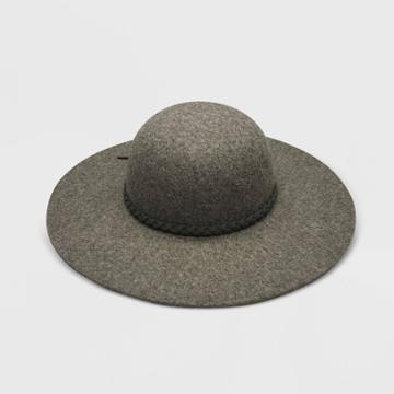 Baby Girls' Felt Floppy Hat - Cat & Jack Heather Gray 12-24m, Gray/grey