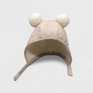Baby Girls' Sherpa Bonnet With Ears Hat - Cat & Jack Pink Newborn