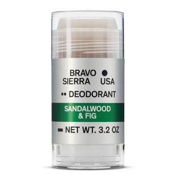 Bravo Sierra Deodorant Sandalwood & Fig Deodorant