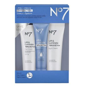 No7 Lift & Luminate Triple Action Travel