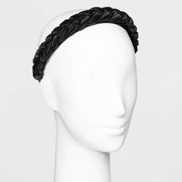 Braided Hard Headband - A New Day Black