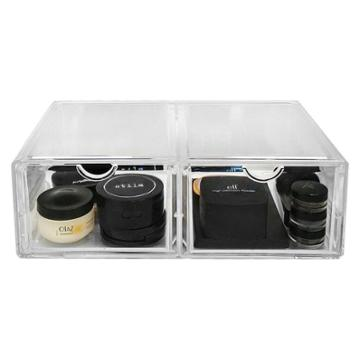 Sorbus Stackable Makeup Storage Case