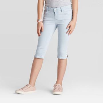 Girls' Jeans Capri - Cat & Jack Light Wash Xxl, Girl's,