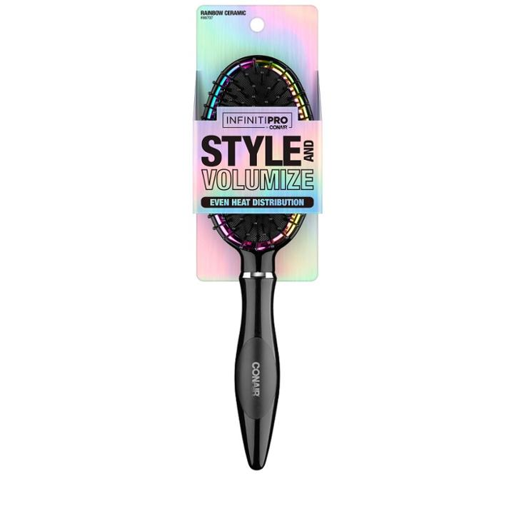 Conair Rainbow Ceramic Cushion Hair Brush,