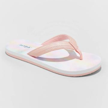 Girls' Alissa Flip Flop Sandals - Cat & Jack Pink