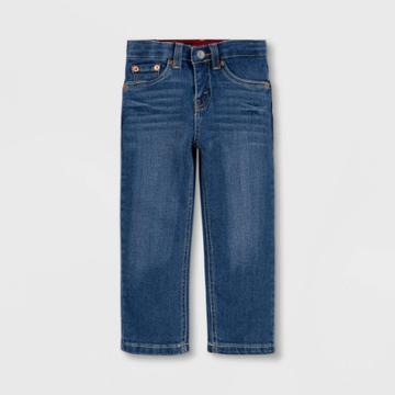Levi's Toddler Boys' 514 Straight Fit Flex Stretch Jeans - Medium Wash West Lake 2t, Medium Blue West Blue