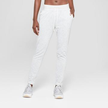 Women's Authentics French Terry Jogger Pants - C9 Champion Light Grey Xxl, Heather Grey