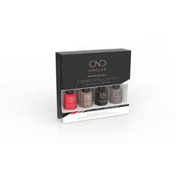 Cnd Vinylux Best Seller Nail Polish Set Classic Pinkie Pack