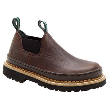 Georgia Boot Boys' Romeo Boots - Brown 3.5m,