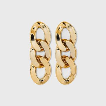 Small Link Drop Earrings - A New Day Gold