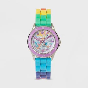 Kids' Shopkins Time Teacher Watch - Purple/white, Girl's,
