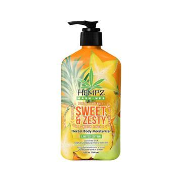 Hempz Limited Edition Sweet And Zesty Herbal Body Moisturizer