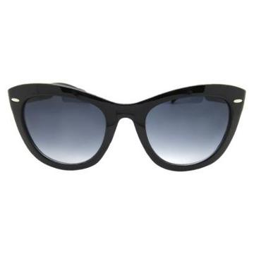 Fantas-eyes, Inc. Women's Cateye Sunglasses - Black