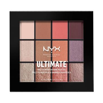 Nyx Professional Makeup Ultimate Shadow Palette Warm Rust - 0.46oz, Warm Red