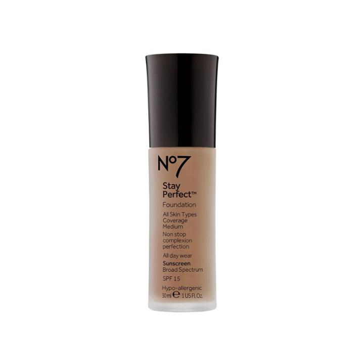 No7 Stay Perfect Foundation Deeply Honey Spf