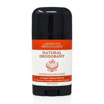 American Provenance Fastballs & Fisticuffs Aluminum-free Natural Deodorant