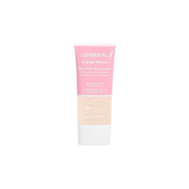 Covergirl Clean Fresh Skin Milk Porcelain Foundation - 1 Fl Oz, Tan/rich