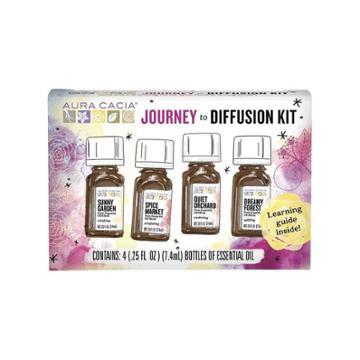 Aura Cacia Journey To Diffusion Kit