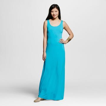 Women's Maxi Dress Turquoise Fairy Xxl - Merona,