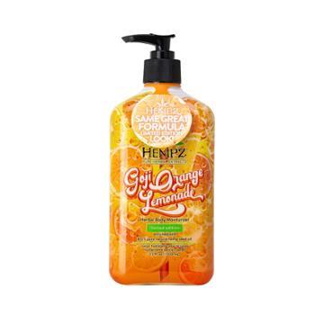 Hempz Limited Edition Goji Orange Lemonade Herbal Body Moisturizer