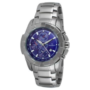 Peugeot Watches Men's Peugeot Dial Watch - Blue,