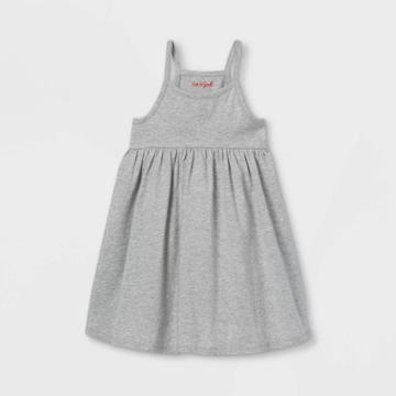Toddler Girls' Knit Tank Dress - Cat & Jack Gray