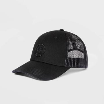 Kids' Baseball Face Hat - Art Class Black