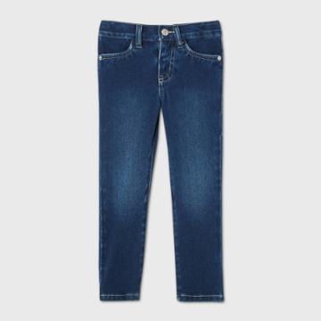 Toddler Girls' Skinny Jeans - Cat & Jack Dark Wash