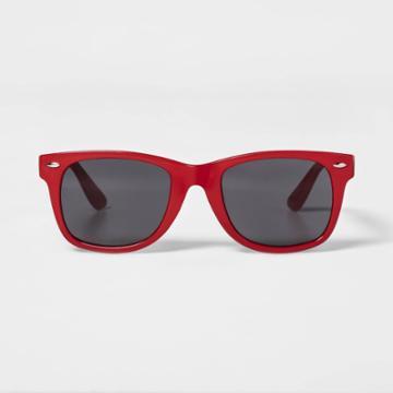Surf Sunglasses - Sun Squad Red, Adult Unisex