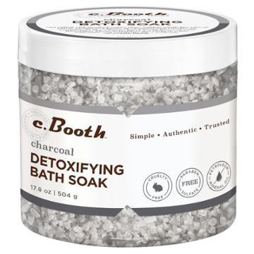C.booth Charcoal Detoxifying Bath