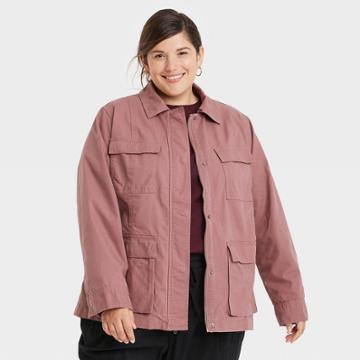 Women's Plus Size Anorak Jacket - Universal Thread