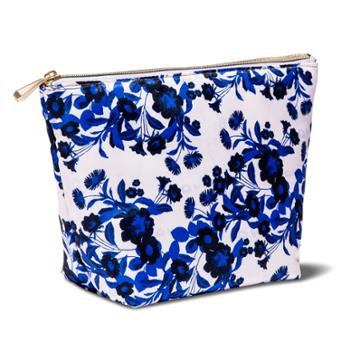 Sonia Kashuk Boat Clutch Etched Floral Pink, Women's
