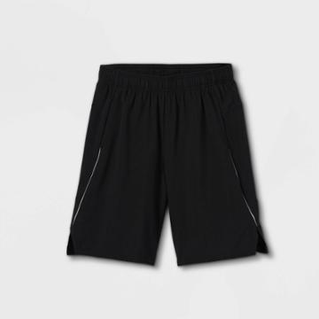 Boys' Woven Run Shorts - All In Motion Black