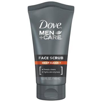 Dove Men+care Deep Clean + Facial Cleanser Exfoliating Face Wash