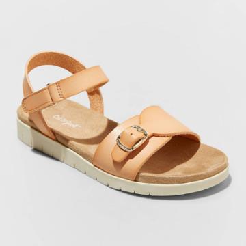 Girls' Karis Footbed Sandals - Cat & Jack Tan