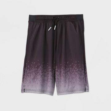 Boys' Geometric Ombre Performance Shorts - All In Motion Black