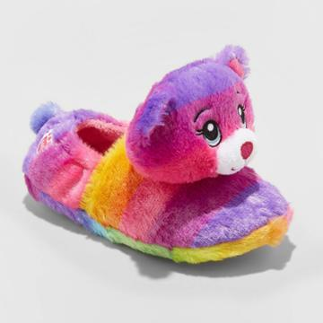 Girls' Build-a-bear Bootie Slippers - Purple
